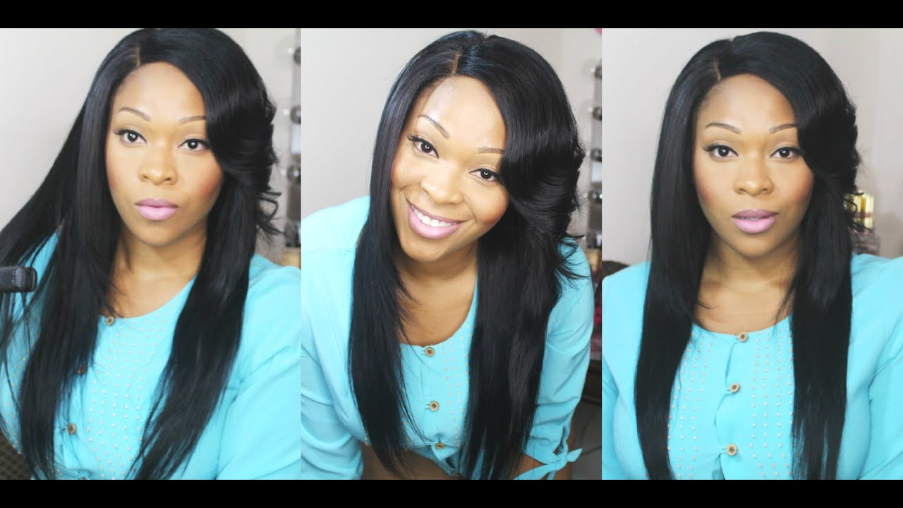 How To Curl Flip Side Bangs With Flat Iron Wowafrican