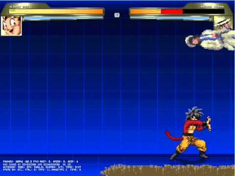 Goku extreme normal, ssj1, ssj2, ssj god, ssj blue, ultra instinct.