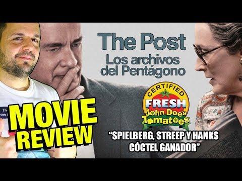 Los archivos del Pentágono - CRÍTICA - REVIEW - OPINIÓN - Spielberg - Hanks - Streep - The Post