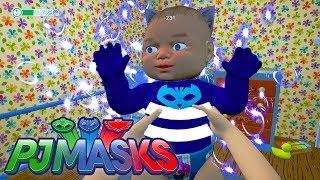 👉 MENINO GATO, O BEBÊ MAIS DESAJEITADO E PODEROSO! - PJ MASKS (Simulador de Mamãe) 😇