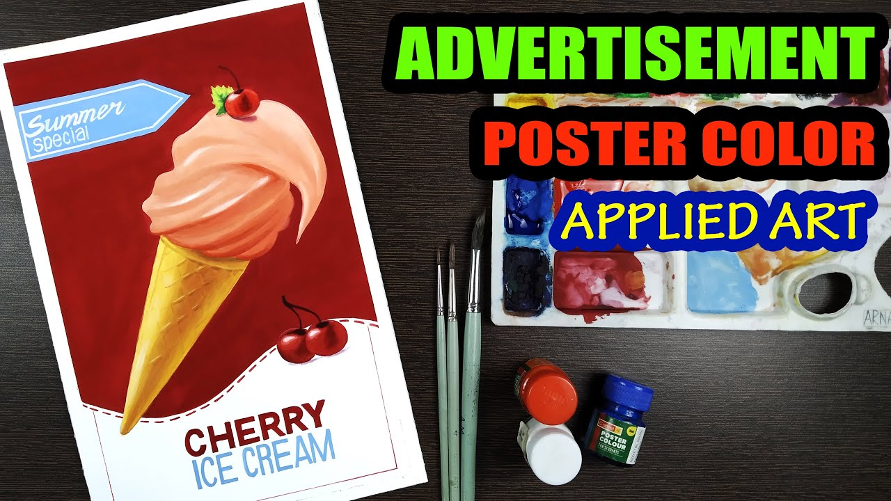 creating a product advertisement design applied art ads advertisement poster color fine art
