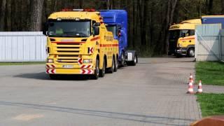 Pomoc Drogowa - Holowanie ciężarowe SZKWAREK - Holowania ciągnika siodłowego - +95 758 2341