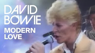 david bowie modern love official video