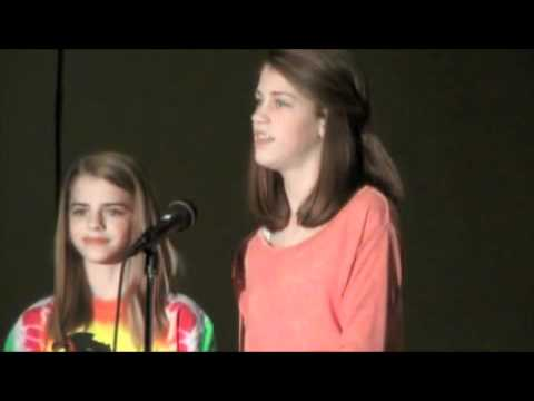 Julia & Sara Goodwin -Let It Be- duet