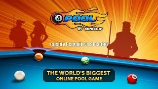 Wasted Wednesday - Miniclip Pool - Cushty Penguin vs SPeef96 [EP2]