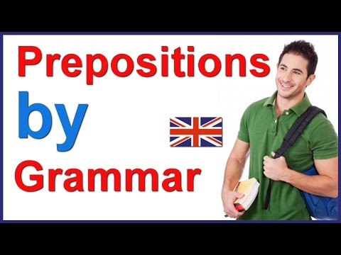 Preposition BY | English grammar lesson
