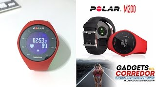 Reloj-gps Polar M200: review completa.