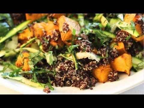 Chicken, Pumpkin and Quinoa Salad