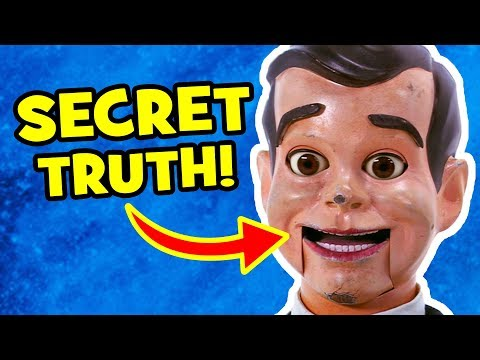 The SECRET TRUTH about SLAPPY & Goosebumps 2 Haunted Halloween
