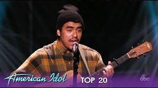 "Alejandro Aranda: An EPIC Cover Of Post Malone's ""Fall Apart"" | American Idol 2019"