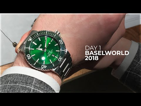 Best Releases & the Ultimate Military Watches - Baselworld Day 1