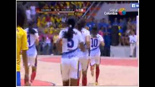 Final Mundial Femenino de Futbol de Salon 2013. Colombia  Parte 1 de 2
