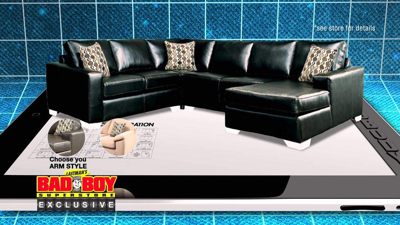 Have It Your Way Customize Your Sofa At Lastmans Bad Boy