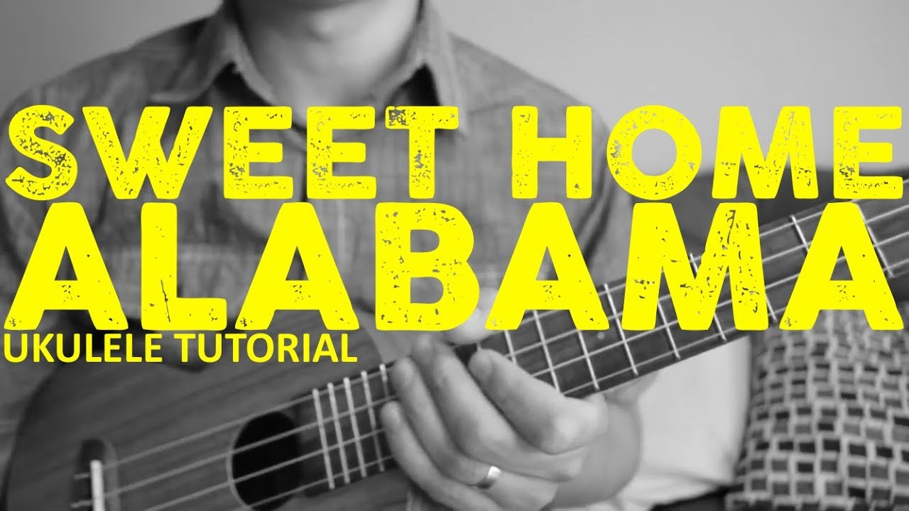 Watch this easy to follow instructional video and you will soon be a pro! Sweet Home Alabama Lynyrd Skynyrd Easy Ukulele Tutorial Chords How To Play Youtube