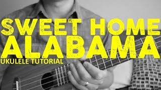 Sweet Home Alabama - Lynyrd Skynyrd - EASY Ukulele Tutorial - Chords - How To Play - rock and roll music ukulele