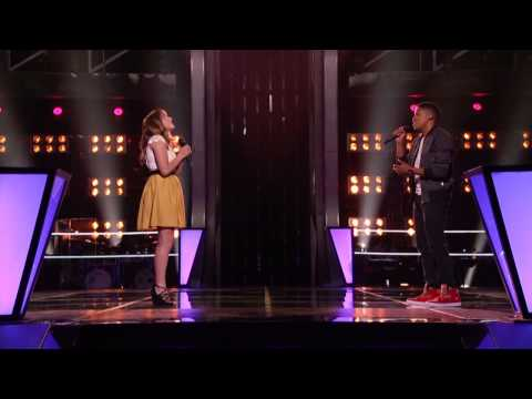 (The Voice) Caroline Pennell vs  Anthony - Paul As Long As You Love Me