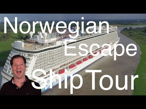 Norwegian Escape Review - Full Walkthrough - Ship Tour - Norwegian Cruise Line