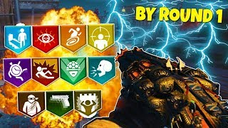 BLOOD OF THE DEAD HOW TO GET SETUP BY ROUND 1   BLACK OPS 4 ZOMB ES