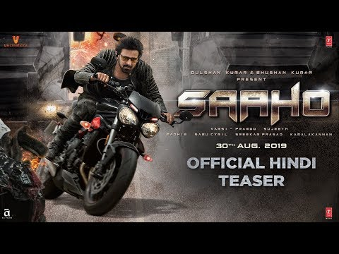 Saaho Movie Poster Release: Prabhas And Shraddha Kapoor's Action Time In Saaho