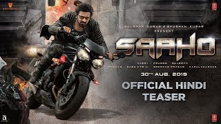 Presenting the official Hindi teaser of the upcoming movie #Saaho. It is a Multi-Lingual Indian Movie ft. Rebel Star Prabhas and Shraddha Kapoor, Directed by ...