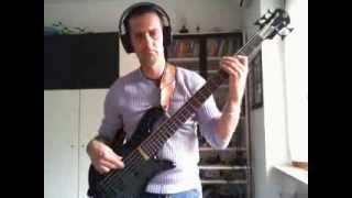 Toto - Rosanna (bass cover)