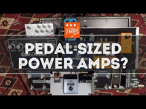 That Pedal Show – Pedal Sized Amps: EHX Magnum 44, Seymour Duncan PS170 & Vox MV50AC