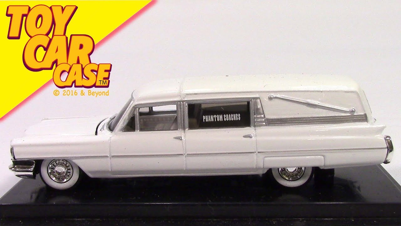 Hot Wheels 1964 Cadillac Hearse Toy Car Case Youtube