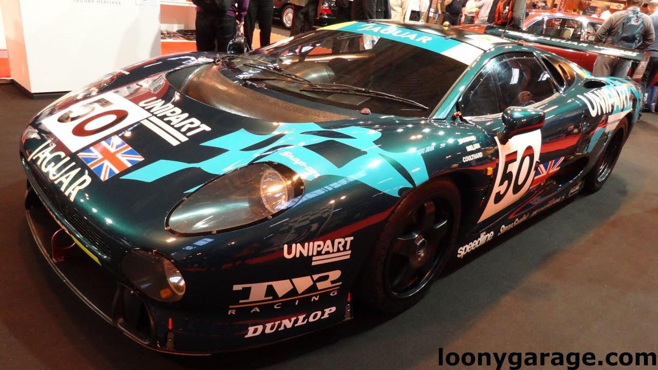 jaguar xj220 le mans race car youtube. Black Bedroom Furniture Sets. Home Design Ideas