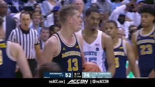 Michigan vs North Carolina College Basketball Condensed Game 2017
