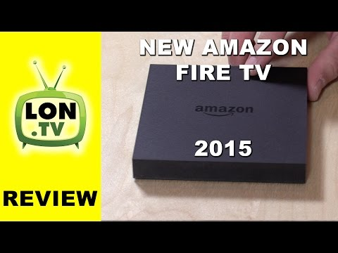 New 2015 Amazon Fire TV Review - Gaming Edition vs. Standard Compare to Android TV - Nvidia Shield
