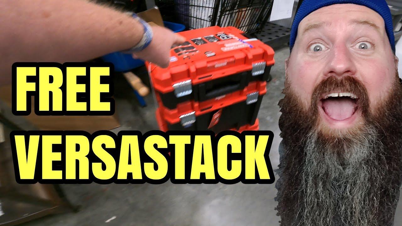 RUN Free Craftsman Versastak Set New Tool Deals Too Epic Too Miss