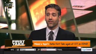 First Take - Kyrie Irving & Flat Earth Denial! ✅