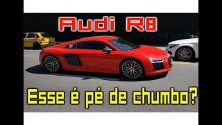Audi R8 MONSTRO na Avenida Europa, Porsche e muito mais - Time Benga