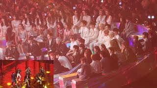 "181201 IDOLS Reaction to ""BTS IDOL"" (방탄소년단 무대 보는 블랙핑크,워너원,여자친구,마마무,아이콘,여자아이들,더보이즈) 4K 직캠 by 비몽"