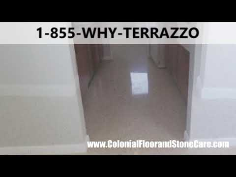 How to Make Terrazzo Floors Polish Services in Palm Beach
