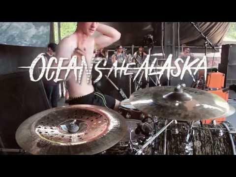 Oceans Ate Alaska - Floorboards [Chris Turner] Drum Video Live [HD]