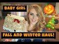 Trendy Fall & Winter Baby Girl Haul!  Ebay & Amazon