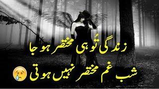 Two Line Poetry For Broken Heart|Sad Heart Touching Urdu Poetry|Part-9|2 line Shayri|Adeel Hassan|