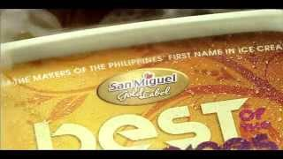 "San Miguel Magnolia Ice Cream ""ingredients"" Tvc 15 Seconds"