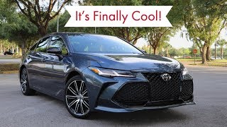 2019 Toyota Avalon Test Drive Review: Not Your Grandparents' Car