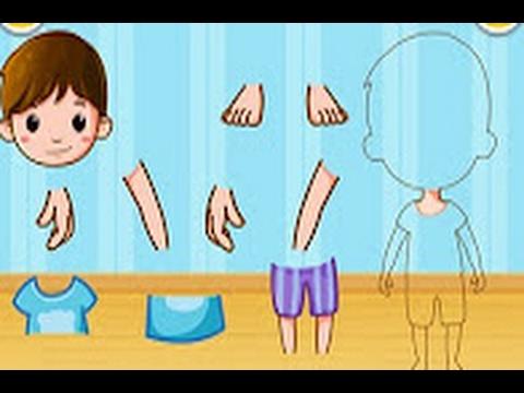 hübsch und bunt 2020 günstig Our Body Parts - kids learn the names of body parts by Baby Bus - best app  videos for kids