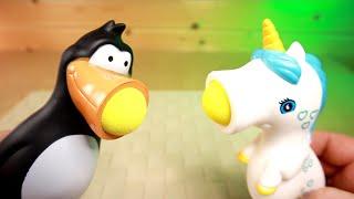 Безумные Игрушки Зверушки Стрелялки шариками из ФиксПрайс Плюется шариком FixPrice