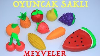 Learn Alphabet Abc Play Doh and Fruits Creative for Kids Rhymes
