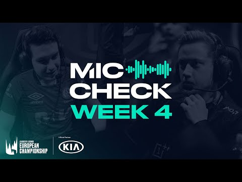 Kia #LEC Mic Check: Week 4 (Spring 2020)
