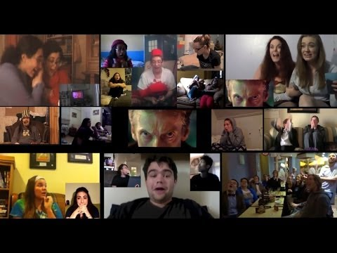 Doctor Who 50th - Peter Capaldi scene (Reaction Mashup), part 1 of 5