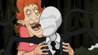 YO MAMA SO UGLY! Slender Man