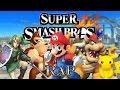 SUPER SMASH BROS RAP | Zarcort, Keyblade, Shark, Kronno, Jacky