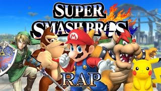 SUPER SMASH BROS RAP | Zarcort, Keyblade, Shark, Kronno, Jacky