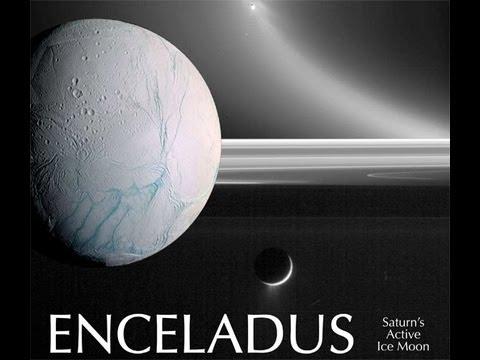 ENCELADUS - Uma das Luas Externas de Saturno - Maravilha do Sistema Solar