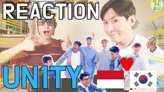 |ENG SUB| 한국인이 본 인도네시아 아이돌 UN1TY - 'Pangeran Tidur' (Sleeping Prince) MV REACTION [저세상텐션 리액션]